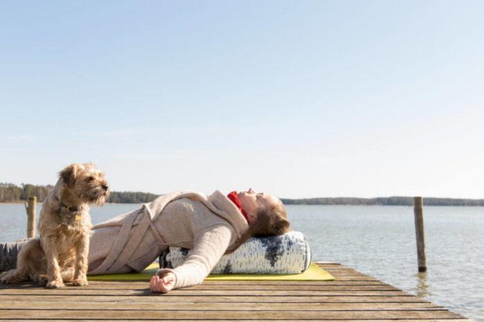 Sarwa Yoga Pölkky bolsteri M
