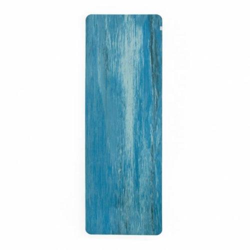 Samurai Marbled luonnonkumimatto sininen