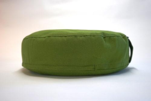 Matala meditaatiotyyny oliivinvihreä