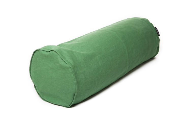 Sarwa-Yoga-bolsteri-pellava-vihreä