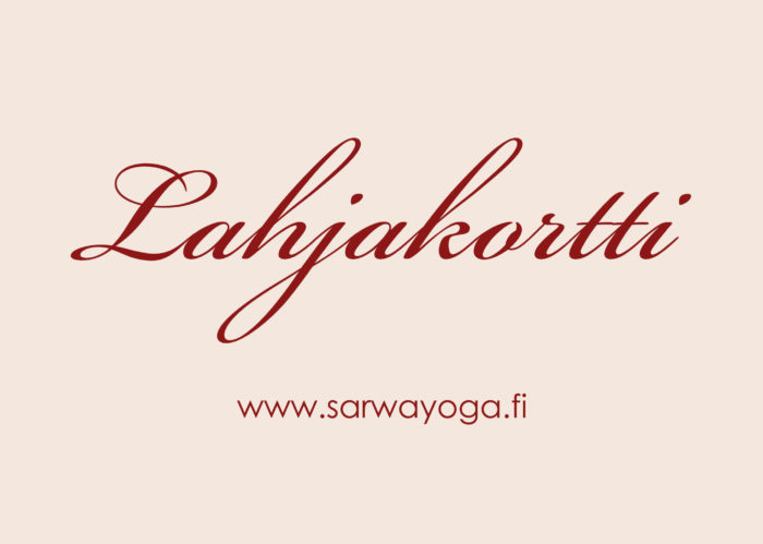 Sarwa_Yoga_Lahjakortti